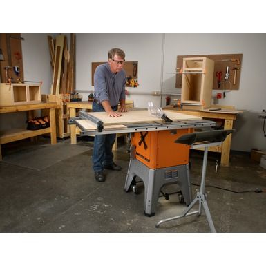 Rigid 10 cast iron table saw woodshop pinterest for 10 cast iron table saw ridgid