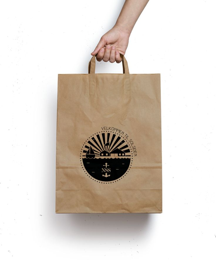 //Goodiebags for sailors in the summertime. #Packdesign #packaging #design #bag #illustration