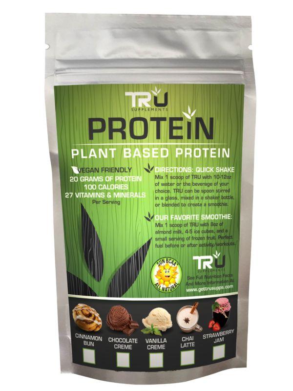 TRU Protein Sampler Kit - 1 serving of Each Flavor (5 Flavors) - Tru Supplements