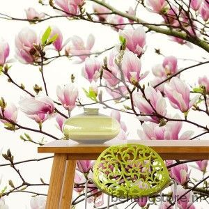 http://www.behangstore.nl/catalog/207,8378/8575/Behang_/Eijffinger_/Fotowand_Rhythm_Wallpower_/Eijf_Rhythm_Wallpower_Mighty_Magnolias_bloem_wit_roze