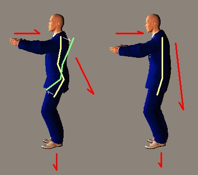 Tai Chi Martial Art: when Tai Chi Push Hands, Tai Chi Steps and Tai Chi Posture combine producing Practical Tai Chi Fighting Technique
