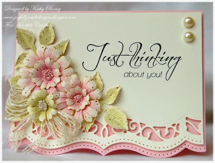 Joyfully Made Designs HFC majesticmorning bloom and die, classic leaf die  11.5.14