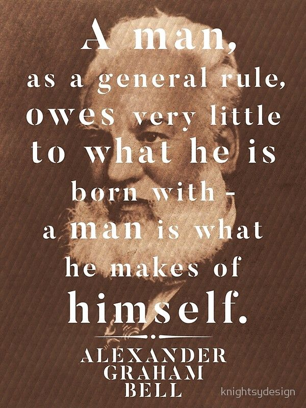 Alexander Graham Bell Life Wisdom Quote' Poster By Knightsydesign Simple Posters With Quotes On Life