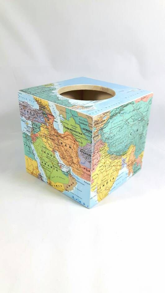 Hey, I found this really awesome Etsy listing at https://www.etsy.com/uk/listing/502000464/map-tissue-box-cover-mothers-day-gift