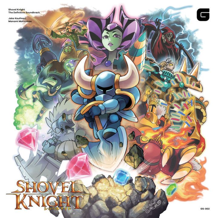 "Shovel Knight Soundtrack on Vinyl Features Custom Art The soundtrack of Yacht Club Games' hit title Shovel Knight is headed to both vinyl and CD courtesy of Brave Wave Productions. Mega Man and Pokemon illustrator Hitoshi Ariga created custom artwork that is featured on Shovel Knight The Definitive Soundtrack. Additionally the release includes commentary from composers Jake ""virt"" Kaufman and Manami Matsumae. Shovel Knight The Definitive Soundtrack via Brave Wave Continue reading https:/"
