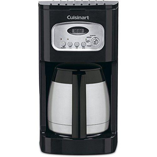 Cuisinart DCC-1150BKFR 10 Cup Thermal Coffee Maker, Black (Certified Refurbished)
