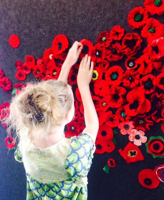 Bendigo Library -5000 poppies project