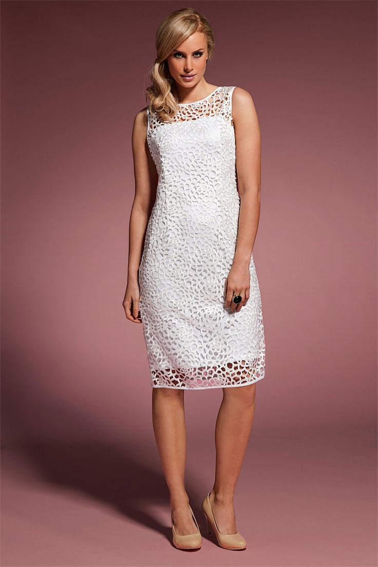 Dresses - Grace Hill Lace Dress - EziBuy New Zealand