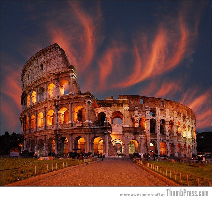 Rome in sunset!