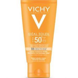 Vichy Ideal Soleil Spf50 BB Tinted Velvety Face Sun Cream 50ml μόνο 11.28€ | Pharmeden.gr