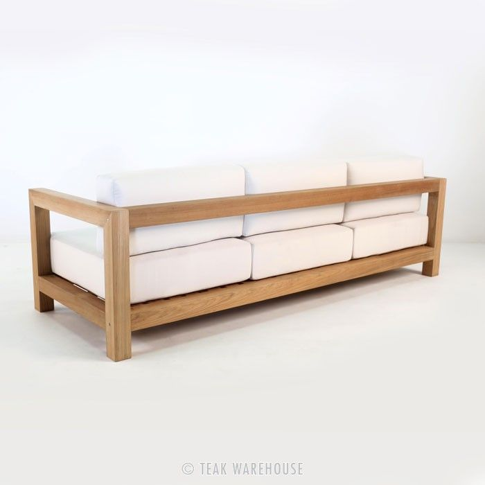Teak Warehouse | Ibiza Teak Outdoor Sofa