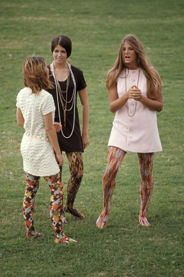 So much more inspiring than Forever 21 or H or Top Shop... | 15 Groovy Photos Of High School Fashion In 1969