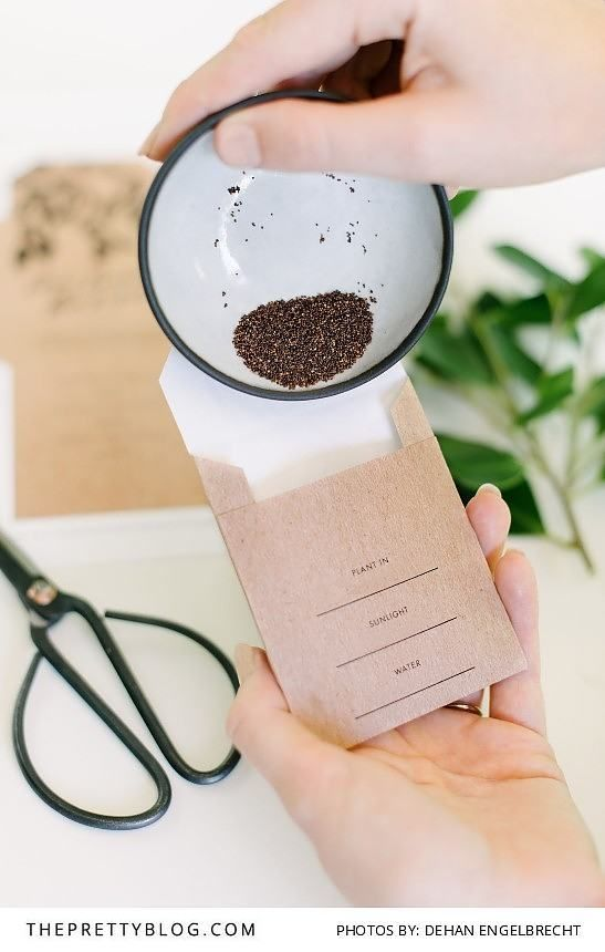 DIY earthy wedding favours | Photograph by Dehan Engelbrecht | Design by White Kite Studio |