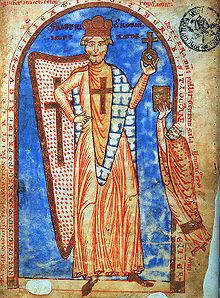 Frederick I Barbarossa (1122 - 1190). Holy Roman Emperor from 1152 to his death in 1190. He was the first Emperor of the Staufen dynasty.