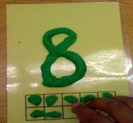 Playdough Numbers: Free Kindergarten Math Center, Kindergarten Math Activities, Ten Frames, Math Centers Acting, Common Cores Math, Math Ideas, Playdough Numbers, Activities Great Ideas, K 5 Math