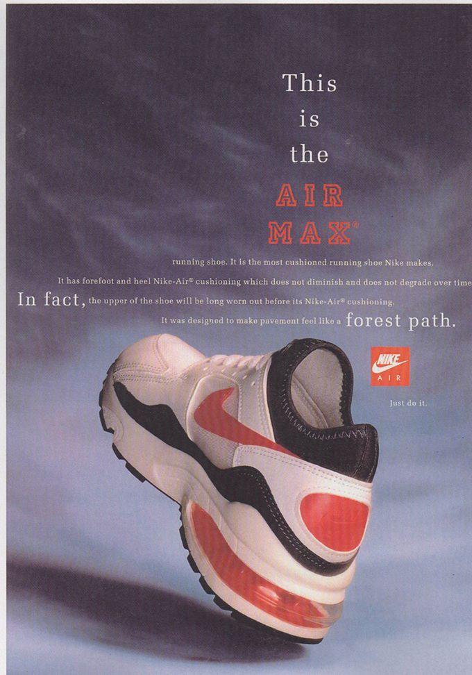 Y Arte Arroyo  Air max 93 Nike ad 1993 | Zapatillas nike, Publicidad de moda, Estilo  urbano masculino