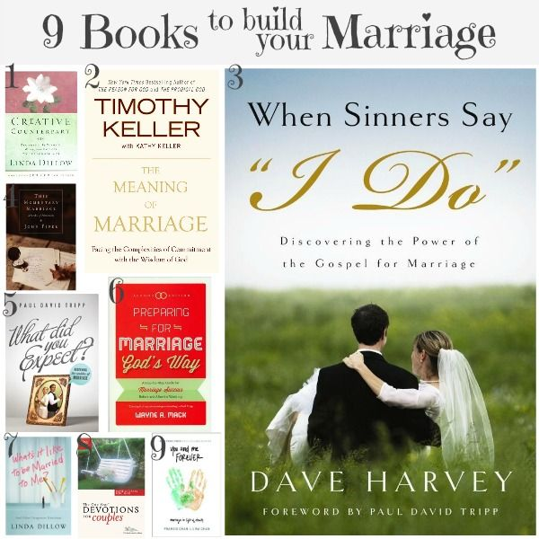 9 livres pour construire votre mariage   – Marriage… everything God designed it to be <3