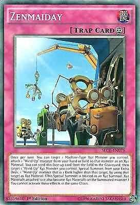 Original Konami YuGiOh Trading Card aus Secrets of Eternity.  SECE-EN075  Zenmaiday  Seltenheit: Common - 1st Edition  GBA-Code: 83319610 | Jetzt günstig bei eBay kaufen!