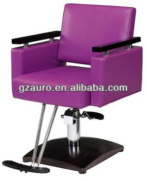 Salon styling chairs purple salon styling chairs for Portable beauty chair