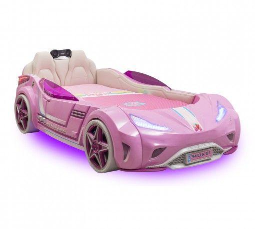 GTI Pink Autóságy #gyerekbútor #bútor #desing #ifjúságibútor #cilekmagyarország #dekoráció #lakberendezés #termék #autóságy #forma1 #ágy #gyerekágy