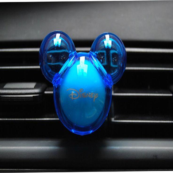 Envío libre para el coche ambientador 100 1 embalaje original mickey forma del coche del filtro de aire