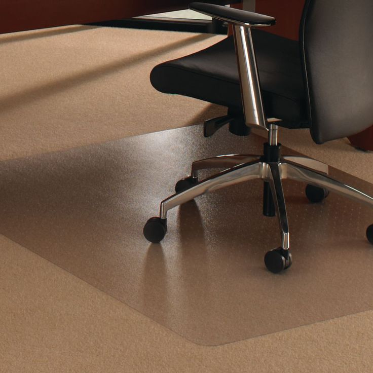 Floortex Cleartex® Rectangular Polycarbonate Carpet Chair Mat, 1200 x 900mm, Clear: The… #paper #pens #officesupplies #ink #toner