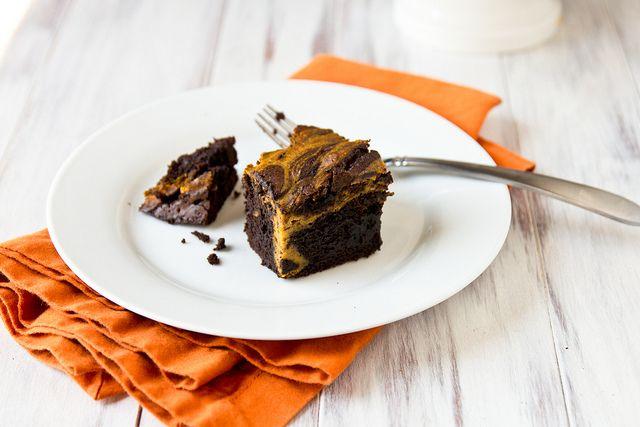 Pompoen-cheesecake-brownies...