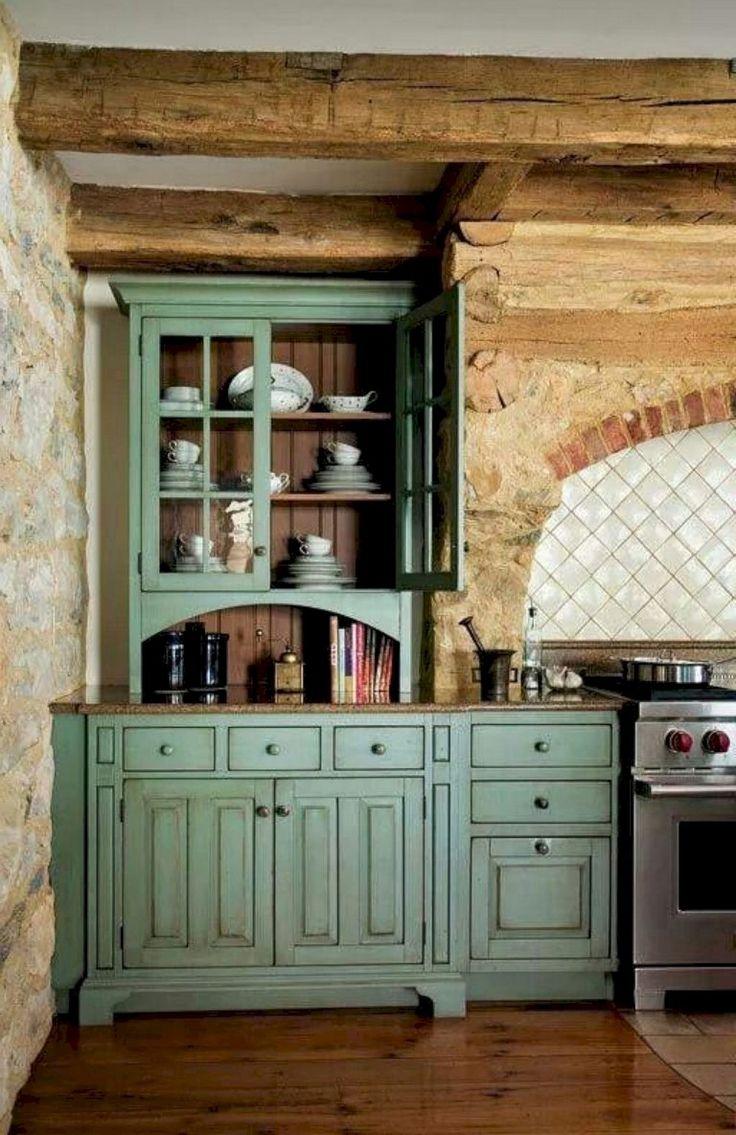 65+ Easy Design for Farmhouse Gray Kitchen Cabinets Ideas ...