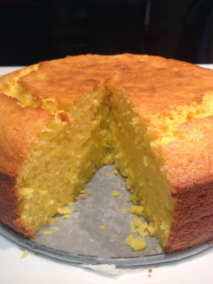 Whole Orange Cake - make muffin size