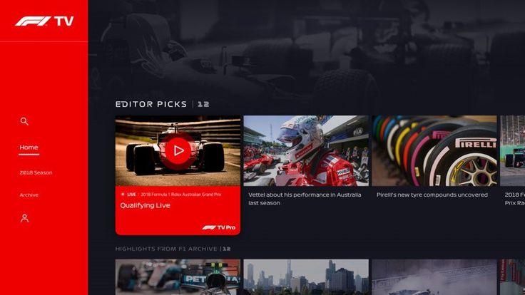 Formula 1 lanza F1 TV, su propio servicio de streaming - https://webadictos.com/2018/03/01/f1-tv-formula-1/