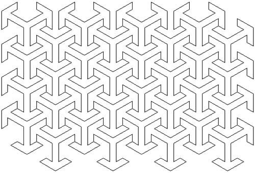 how to draw easy islamic geometric patterns