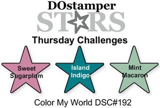 DOstamperSTARS Thursday Challenge #192-Color My World