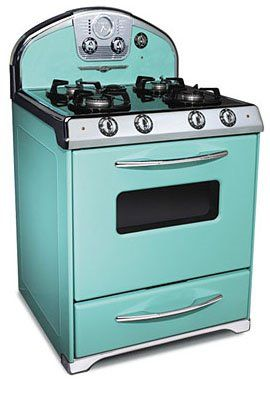 buy retro looking appliances with modern technology! swoon