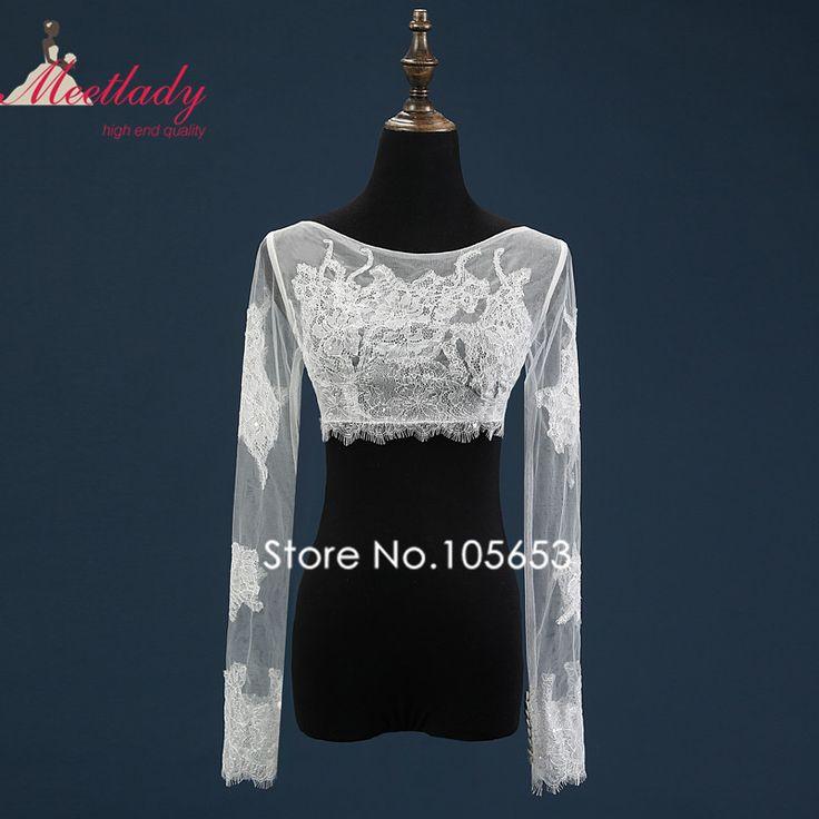 Сексуальное отвесное реальных образцах свадебные болеро с длинными рукавами Большой размер пиджак люкс молния свадебное болеро свадебные аксессуары RC03(China (Mainland))