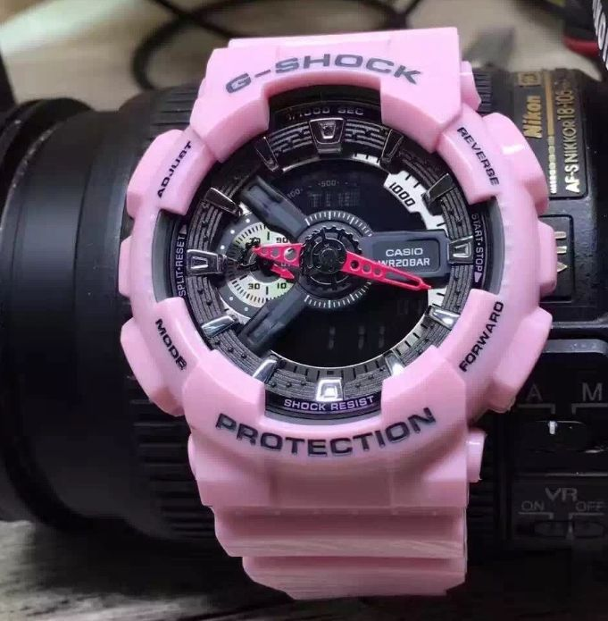 Casio G-Shock Protection Analog Digital 52mm Watches