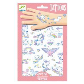 DJECO Tetování - Země jednorožců