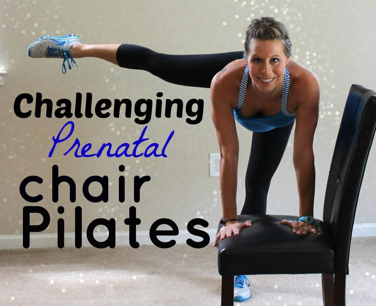 Challenging Prenatal Chair Pilates - 15 Minutes. suitable for 3rd Trimester