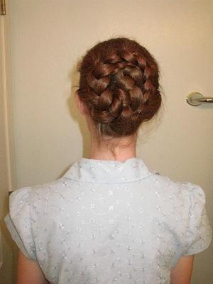 Inside-Out French Braid Bun - Rapunzel's Resource    I'll give this a try if I ever learn how to French braid.