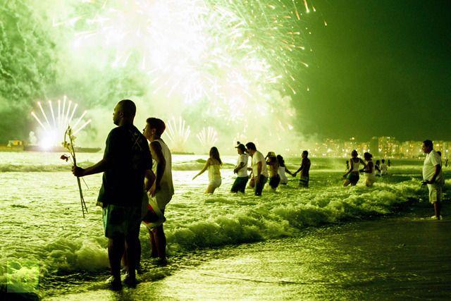 Rio at New Year....