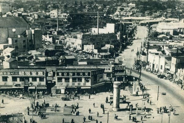 1949年(昭和24年)▷渋谷駅前・...