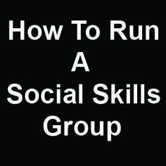 Free: How to Run a Social Skills Group Many of our children with language delays also have trouble with social skills. This may be due to certain conditions that impair social skills, like autism, or it may just be because these children have trouble learning language and social interactions rely heavily on language skills. Whatever the cause,