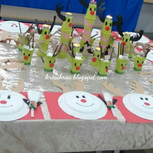 kresikrea: Ide table deco (birthday party)
