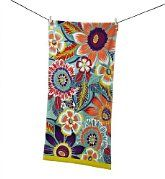 Colourfield Floral Beach Towel - Marks & Spencer