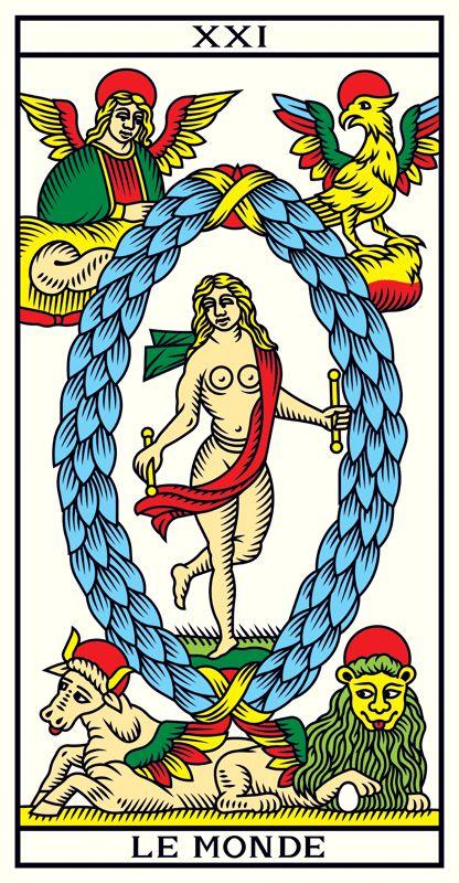Le Tarot de Marseille Edition Millennium - la redécouverte de la nature originelle du Tarot de Marseille - Le jeu de cartes