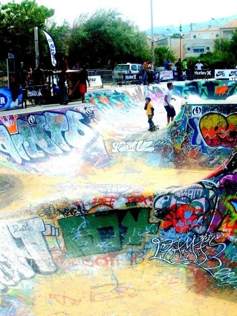 Marseilles skate park