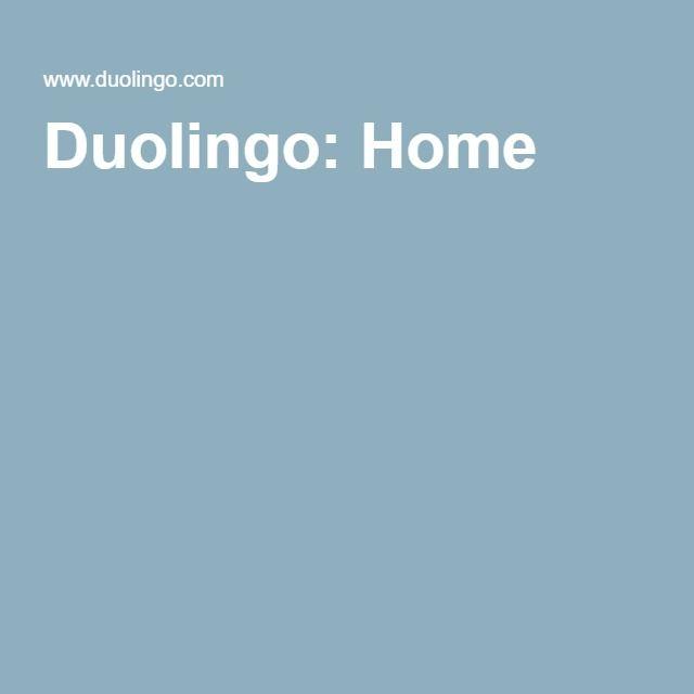Duolingo: Home - Learn a language for free