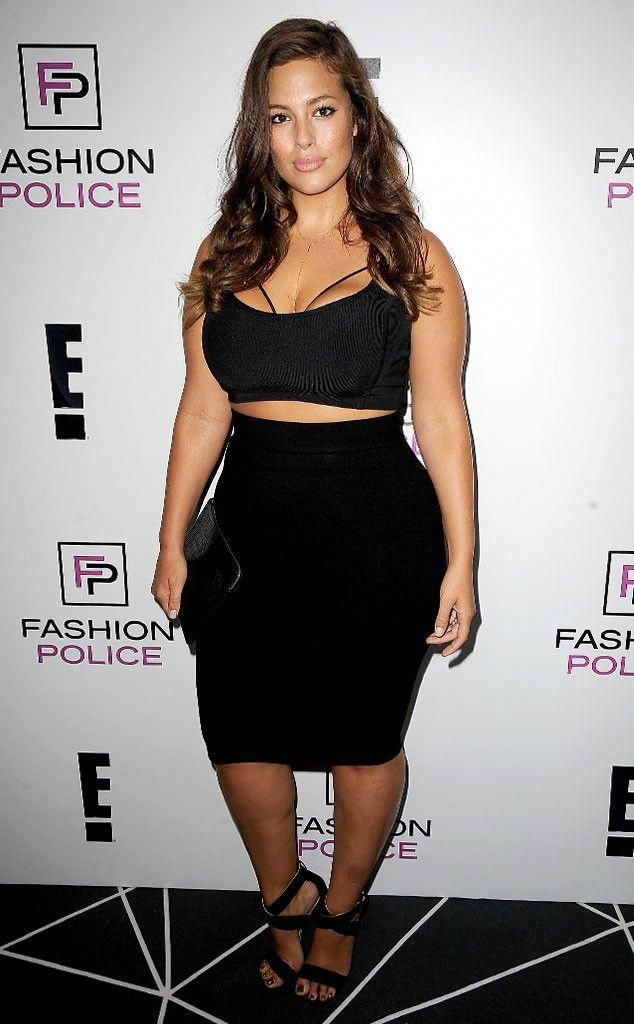 7f3165601e9e9 Plus-Size Model Ashley Graham Reacts to Fat-Shaming YouTube Star Nicole  Arbour: