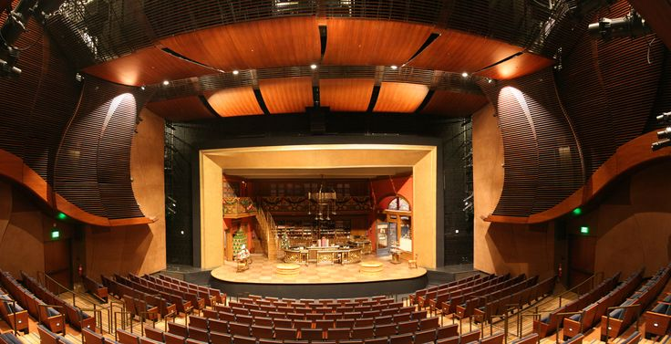 Theater Hall in the Wallis Annenberg Center for the Performing Arts. Beverly Hills, CA