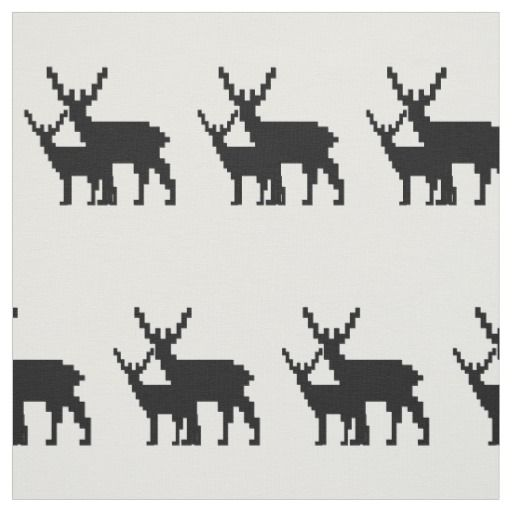Mother Deer Fabric