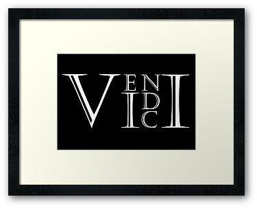 Veni Vidi Vici by ofthebaltic Ink idea?